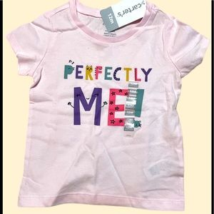 Carter's Perfectly Me Pink Tee